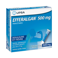 Efferalgan 500 Mg Glé En Sachet Sach/16 à TOUCY