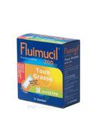 FLUIMUCIL EXPECTORANT ACETYLCYSTEINE 200 mg ADULTES SANS SUCRE, granulés pour solution buvable en sachet édulcorés à l'aspartam et au sorbitol à TOUCY