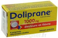DOLIPRANE 1000 mg Comprimés effervescents sécables T/8 à TOUCY
