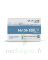 GRANIONS DE MAGNESIUM 3,82 mg/2 ml S buv 30Amp/2ml à TOUCY
