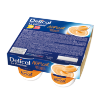 DELICAL LA FLORIDINE CREME DESSERT HP HC, pot 200 g x 4 à TOUCY
