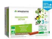 Arkofluide Bio Ultraextract Coffret programme détox 3x10 Ampoules/10ml à TOUCY