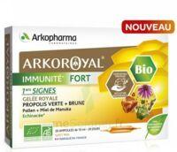 Arkoroyal Immunité Fort Solution Buvable 20 Ampoules/10ml à TOUCY