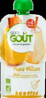 Good Goût Alimentation Infantile Poire Williams Gourde/120g à TOUCY