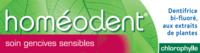 Boiron Homéodent Soin Gencives Sensibles Pâte Dentifrice Chlorophylle 2t/75ml à TOUCY