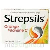STREPSILS ORANGE VITAMINE C, pastille à TOUCY