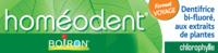 Boiron Homéodent Soin Complet Dents et Gencives Pâte Dentifrice Chlorophylle Format Voyage T/25ml à TOUCY