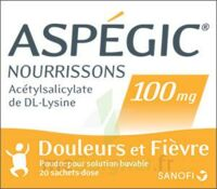 Aspegic Nourrissons 100 Mg, Poudre Pour Solution Buvable En Sachet-dose à TOUCY