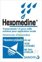 HEXOMEDINE TRANSCUTANEE 1,5 POUR MILLE, solution pour application locale à TOUCY