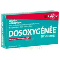 DOSOXYGENEE 10 VOLUMES, solution pour application cutanée en récipient unidose à TOUCY