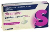 DIOSMINE SANDOZ CONSEIL 600 mg, comprimé pelliculé à TOUCY