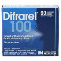 Difrarel 100 Mg, Comprimé Enrobé 6plq/10 à TOUCY