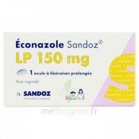 ECONAZOLE SANDOZ L.P. 150 mg, ovule à libération prolongée à TOUCY