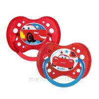 Dodie Disney Sucettes Silicone +18 Mois Cars Duo à TOUCY