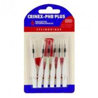 CRINEX PHB PLUS Brossette inter-dentaire cylindrique B/6 à TOUCY