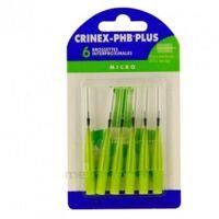 CRINEX PHB PLUS Brossette inter-dentaire micro B/6 à TOUCY