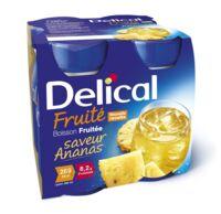 DELICAL BOISSON FRUITEE Nutriment ananas 4Bouteilles/200ml à TOUCY