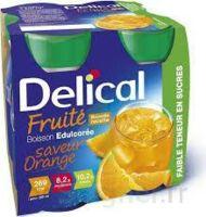 DELICAL BOISSON FRUITEE Nutriment édulcoré orange 4Bouteilles/200ml à TOUCY
