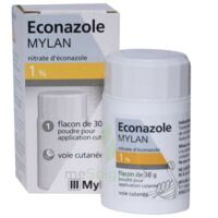 Econazole Mylan 1 % Pdr Appl Cut Fl/30g à TOUCY