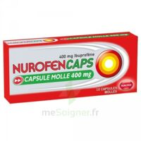 Nurofencaps 400 Mg Caps Molle Plq/10 à TOUCY