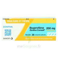 IBUPROFENE ZENTIVA CONSEIL 200 mg, comprimé pelliculé à TOUCY