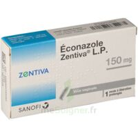 ECONAZOLE ZENTIVA LP 150 mg, ovule à libération prolongée à TOUCY