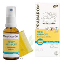 Pranarôm Aromapoux Bio Spray anti-poux 30ml+peigne à TOUCY