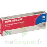 AMBROXOL TEVA CONSEIL 30 mg, comprimé