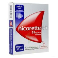 Nicoretteskin 25 mg/16 h Dispositif transdermique B/28 à TOUCY