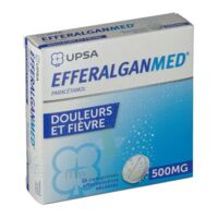 EFFERALGANMED 500 mg, comprimé effervescent sécable à TOUCY