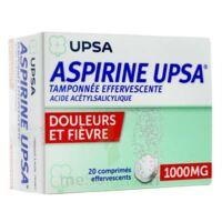 ASPIRINE UPSA TAMPONNEE EFFERVESCENTE 1000 mg, comprimé effervescent à TOUCY
