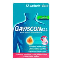 GAVISCONELL Suspension buvable sachet-dose menthe sans sucre 12Sach/10ml à TOUCY
