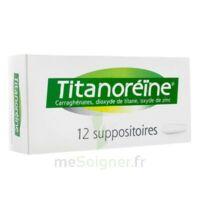 Titanoreine Suppositoires B/12 à TOUCY