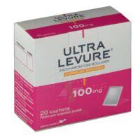 ULTRA-LEVURE 100 mg Poudre pour suspension buvable en sachet B/20 à TOUCY