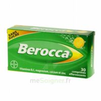 Berocca Comprimés effervescents sans sucre T/30 à TOUCY