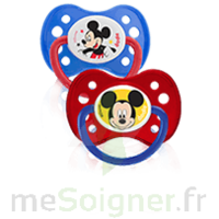 Dodie Disney Sucette anatomique silicone +6mois Mickey Lot/2 à TOUCY