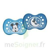 Sucette Dodie Anatomique Silicone Mickey 18 Mois + X 2 à TOUCY