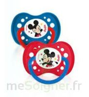 Dodie Disney sucettes silicone +18 mois Mickey Duo à TOUCY
