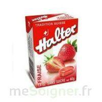 Halter Bonbon sans sucre fraise 40g à TOUCY