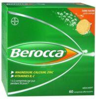 Berocca Comprimés effervescents sans sucre T/60 à TOUCY