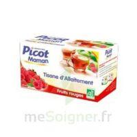 Picot Maman Tisane D'allaitement Fruits Rouges 20 Sachets à TOUCY