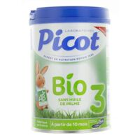 Picot Bio 3 Lait en poudre 800g à TOUCY