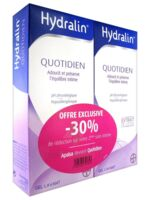 Hydralin Quotidien Gel lavant usage intime 2*200ml à TOUCY
