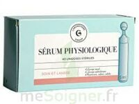 Giphar - Sérum Physiologique B/40 à TOUCY
