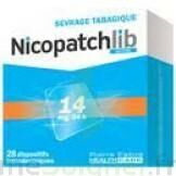 NICOPATCHLIB 14 mg/24 h Dispositifs transdermiques B/28 à TOUCY
