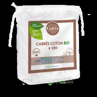 Gifrer Carré coton bio Sachet/150