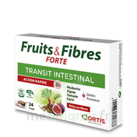Ortis Fruits & Fibres Forte Cube à mâcher B/12 à TOUCY