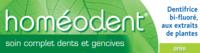Boiron Homéodent Soin Complet Dents Et Gencives Pâte Dentifrice Anis 2t/75ml à TOUCY