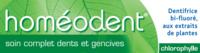 Boiron Homéodent Soin Complet Dents et Gencives Pâte Dentifrice Chlorophylle 2T/75ml à TOUCY