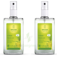Weleda Duo Déodorant Au Citrus 200ml à TOUCY